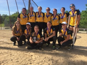 Second Place at the 2016 Belles Tune-Up Tournament