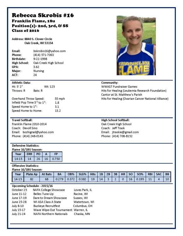 Becca Profile (18U-2016)